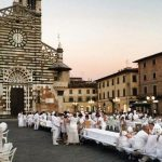 Total white dinner a Prato