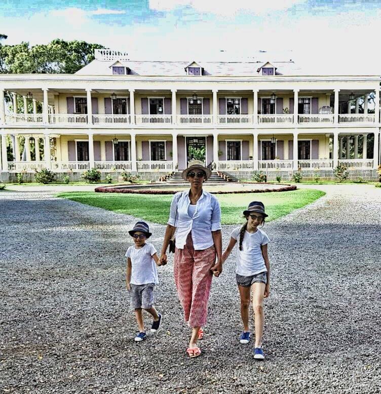 La villa coloniale Chateau de Labourdonnais
