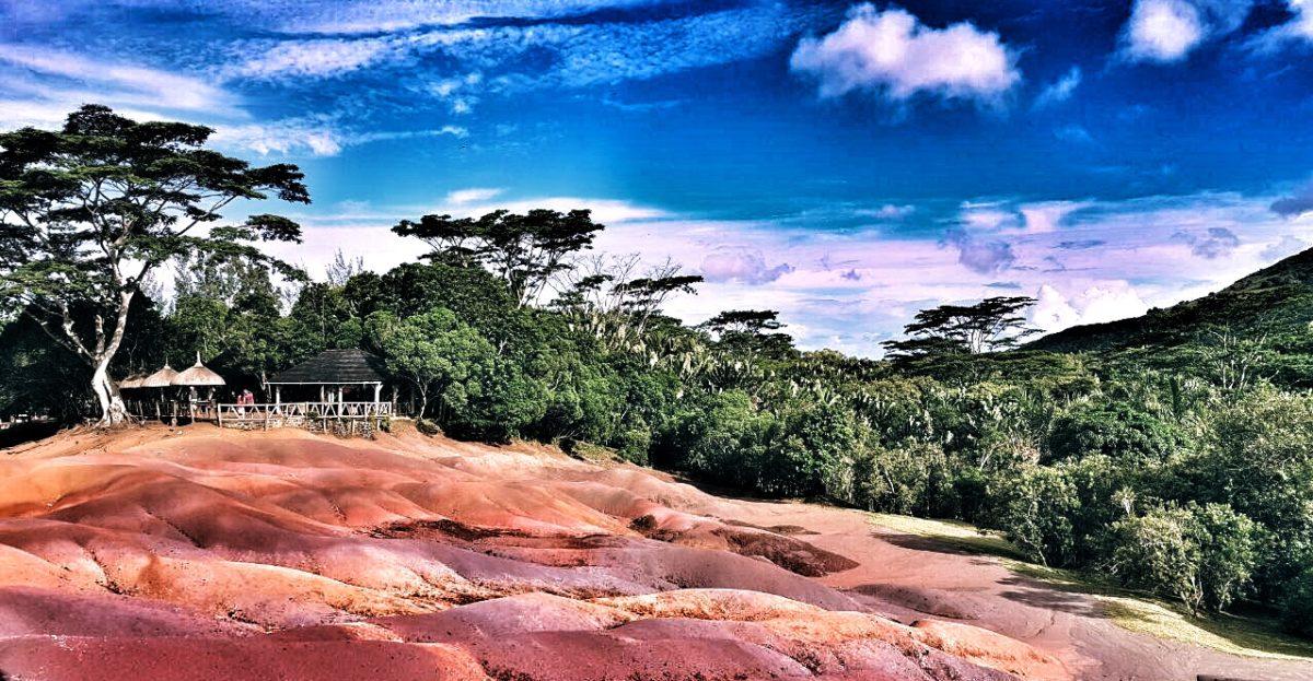 Le terre dei sette colori di Chamarel
