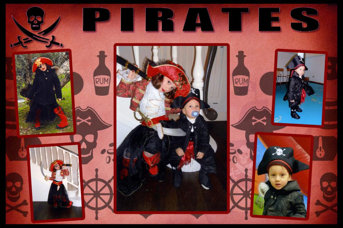 Travestimenti bambini pirati