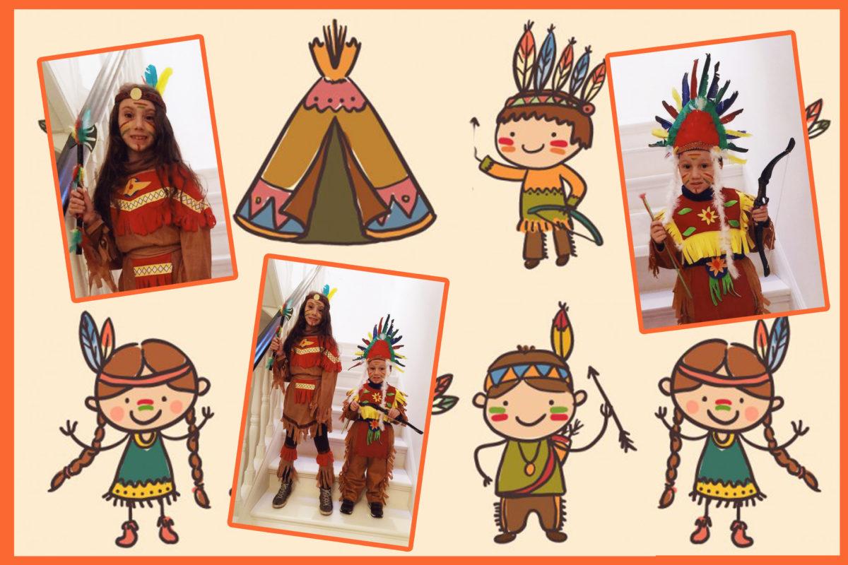 Costumi bambini Indiani