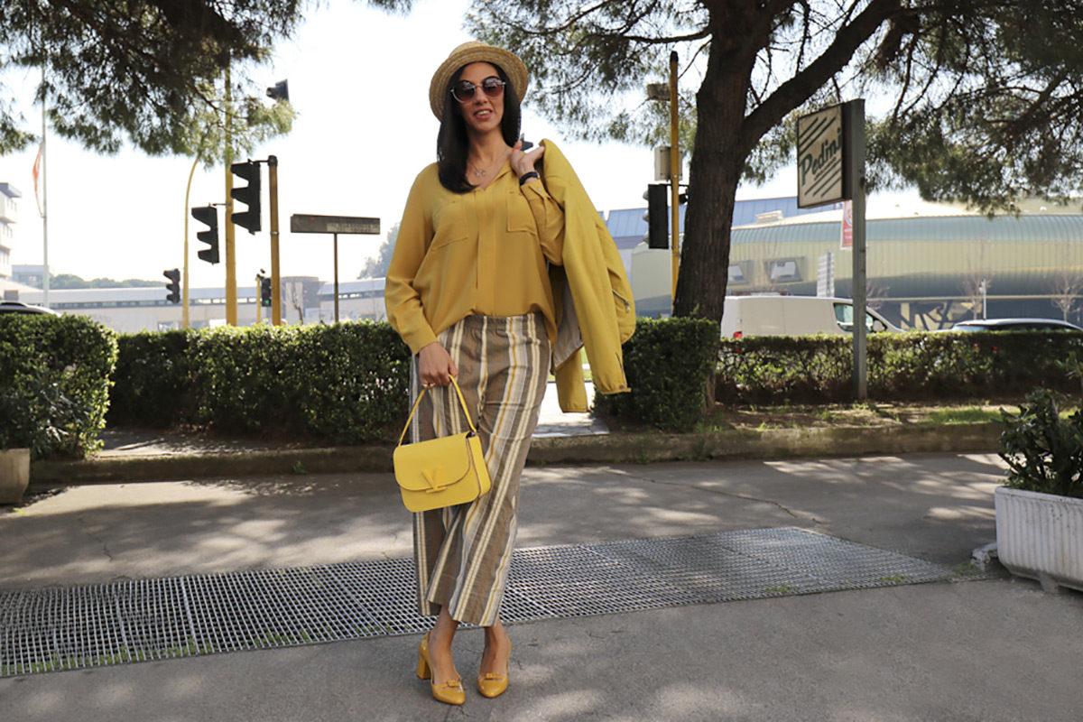 Outfit giallo gioia - 01