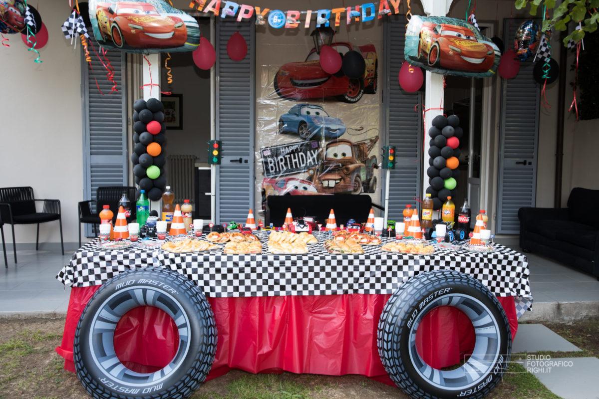 festa compleanno stile cars (8)