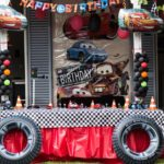 Josè Manuel's birthday party with Cars theme.