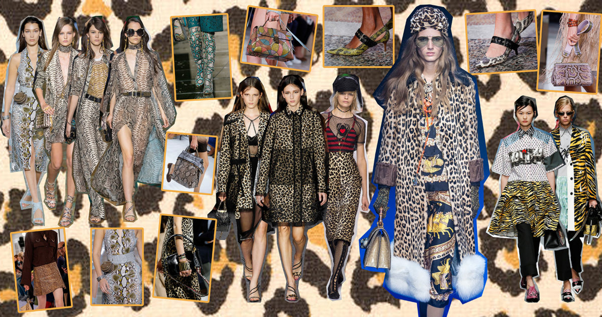 Tendenze primavera estate 2018_Animalier