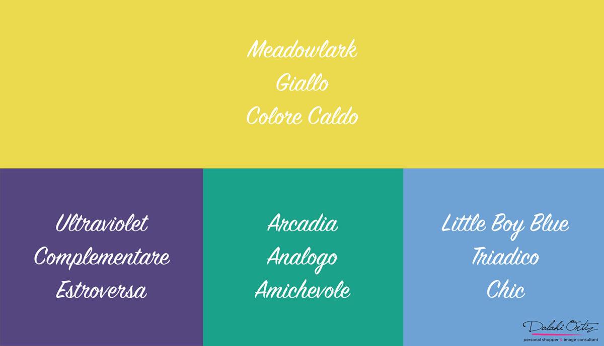 03_Colori di tendenza 2018_Meadowlark_Palette colore giallo