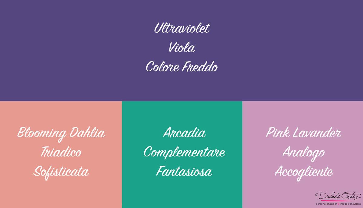 07_Colori di tendenza 2018_Palette colore viola_Ultraviolet colore dell anno