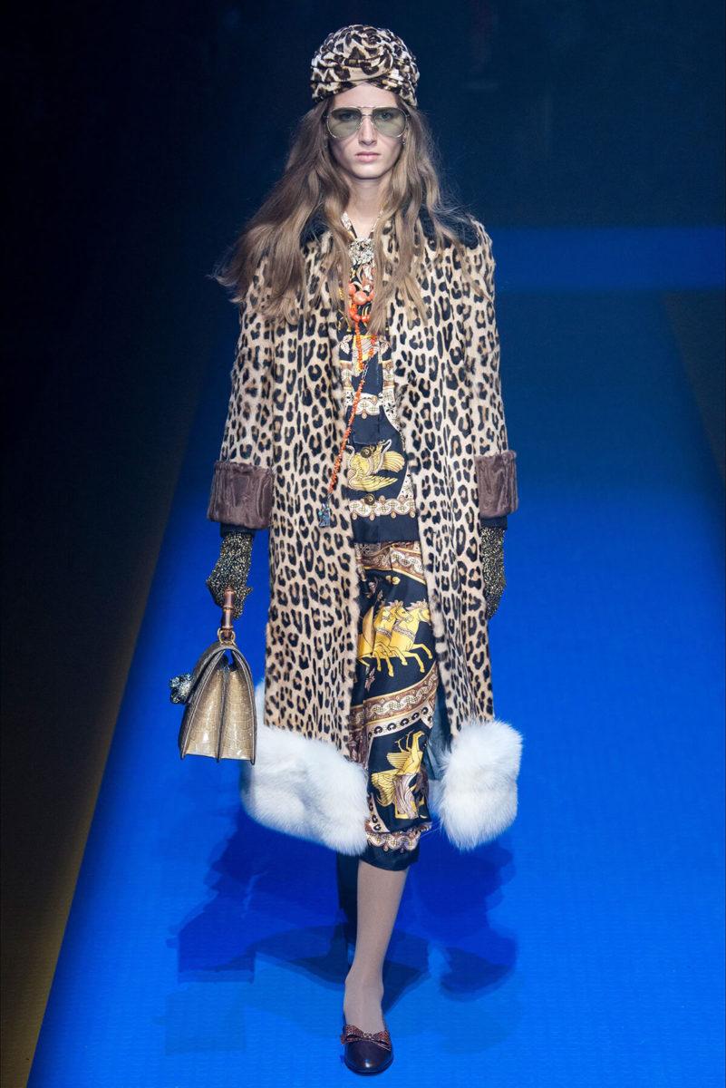 Vestito Gucci Leopardato