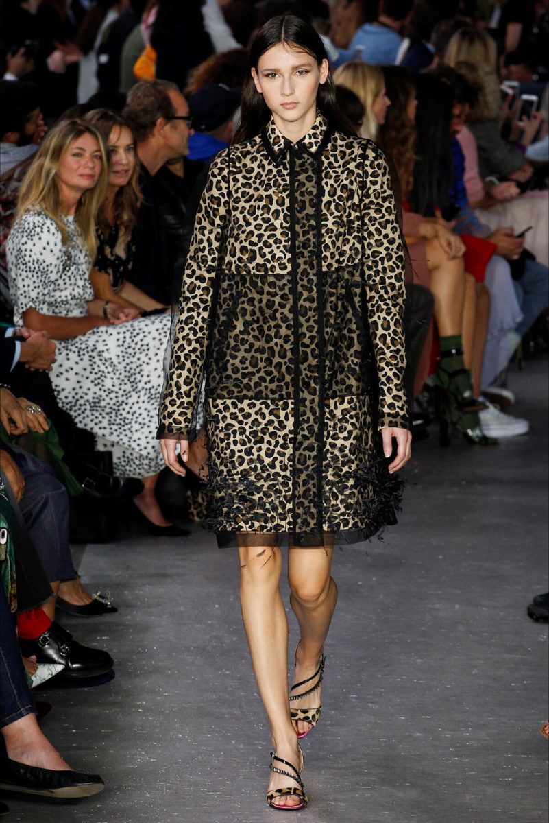 N21- Vestito Leopardato