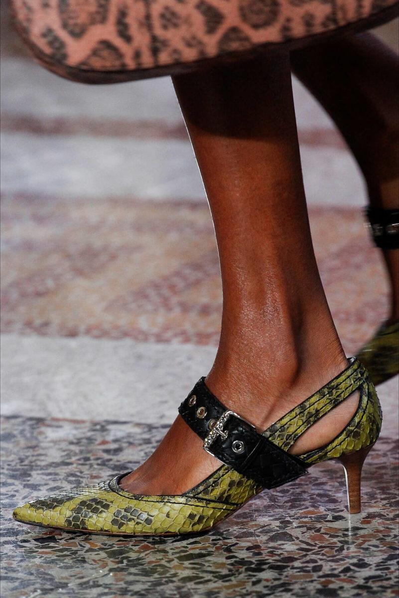 Scarpa da donna in pelle di coccodrillo - Bottega Veneta