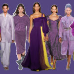 Purple: color of the spring summer 2018 season