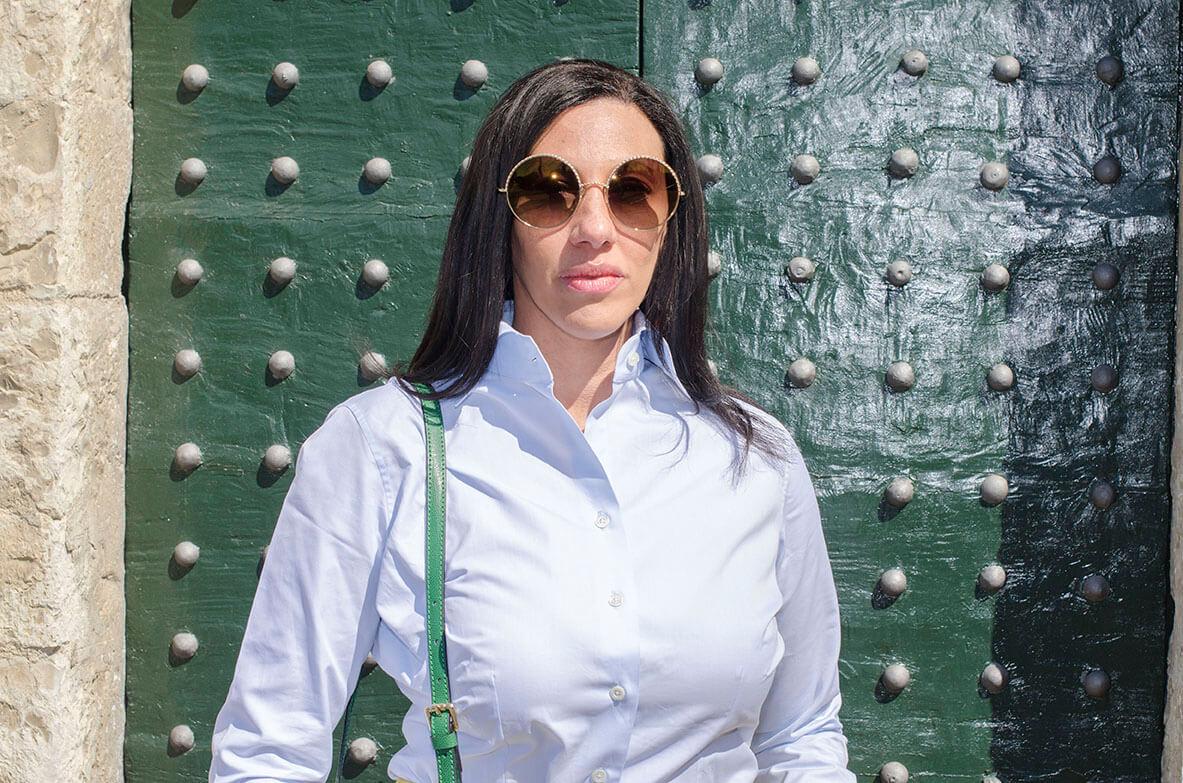 Outfit - Camicia bianca fatta su misura
