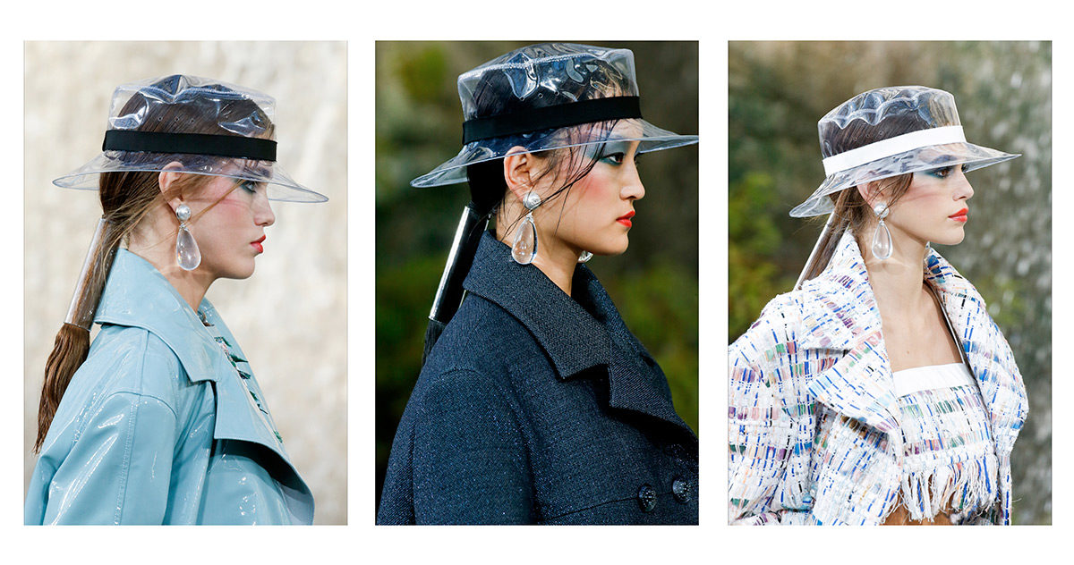 Cappelli e Orecchini - Chanel