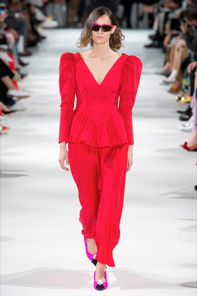 Colore rosso protagonista: le tendenze dalle sfilate - Stella McCartney