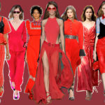 Red protagonist: trends from fashion shows