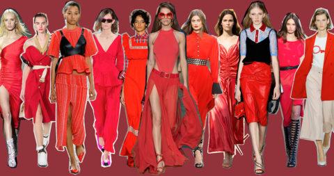 Colore rosso protagonista: le tendenze dalle sfilate - copertina