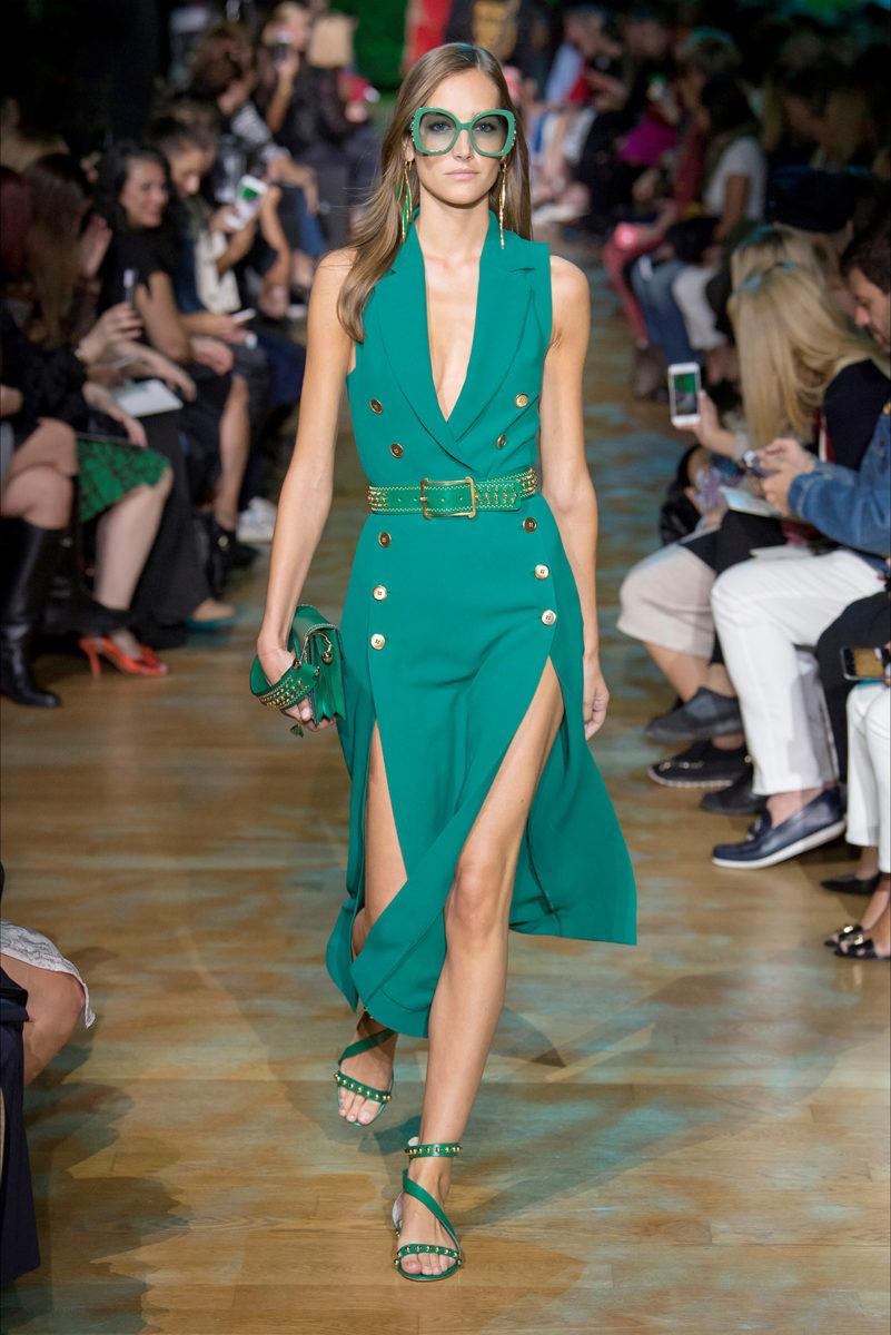 Verde Arcadia: tonalità di tendenza estate 2018 - Elie Saab