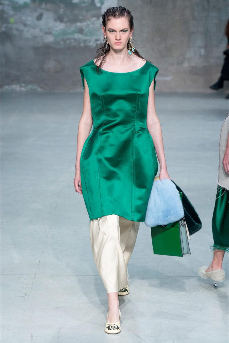 Verde Arcadia: tonalità di tendenza estate 2018 - Marni