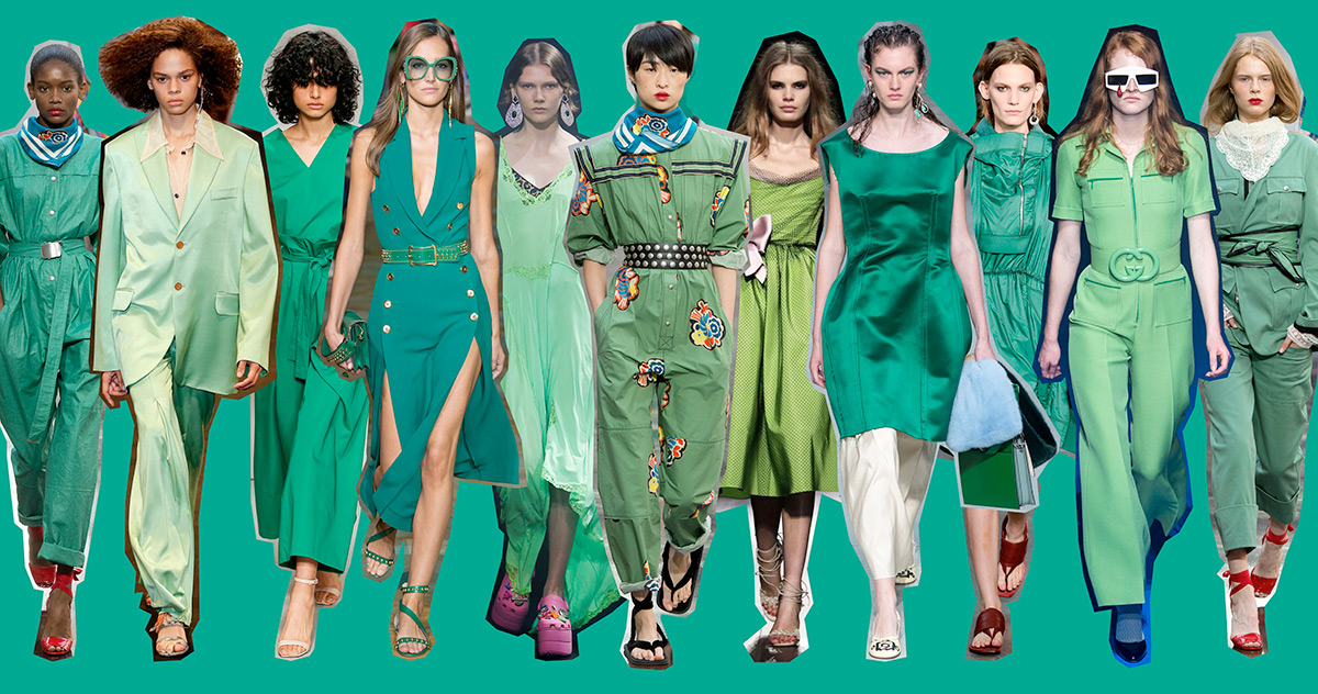 Verde Arcadia: tonalità di tendenza estate 2018 - copertina