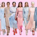 La tendenza dei Colori Pastello, Rosa e Celeste