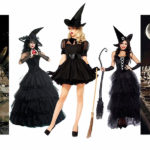 Halloween Party: 3 black outfits for 3 scary parties